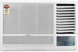 Hitachi 1 Ton 5 Star Window AC (Copper Condensor, KAZE PLUS RAW511KUD, White)