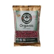 Mother Organic 100% Organic Rajma (Red, 500GM)