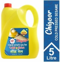 Chigoor 100% Pure Cold Pressed Sesame Oil (5LTR)