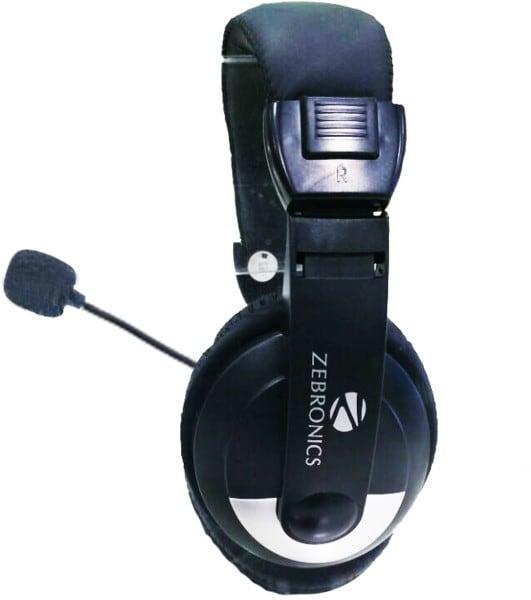 Zebronics 100HM Headphone (Black)
