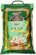 Aeroplane 1121 Regular Steam Basmati Rice (5KG)