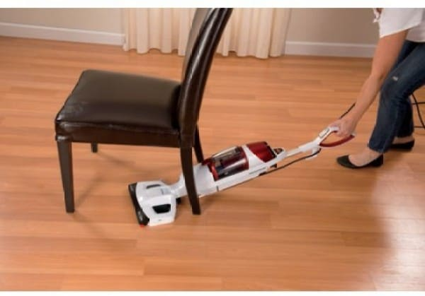 Bissell 1132E Dry Vacuum Cleaner (Red & White)