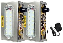 GO Power 12 LED Emergency Light (Silver)