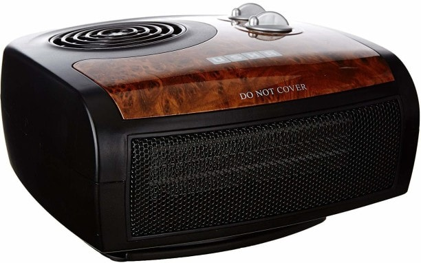 Usha 1212 PTC Fan Room Heater (Black)