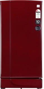 Godrej 190 L Direct Cool Single Door 2 Star Refrigerator (RD EDGE 205 WRF 2.2, Wine Red)