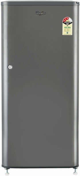 Whirlpool 190 L Direct Cool Single Door 3 Star Refrigerator (WDE 205 CLS 3S, Solid Grey)