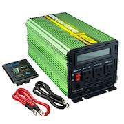 Edecoa 19312G2000LUS Solar Power Inverter (Green)