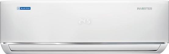 Blue Star 2 Ton 5 Star Inverter Split AC (Alloy Condenser, IC524DATX, White)