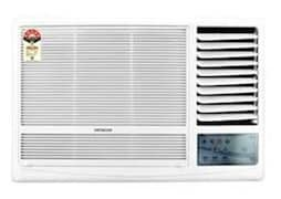 Hitachi 2 Ton 2 Star Window AC (Copper Condensor, KAZE PLUS RAW222KUD, White)