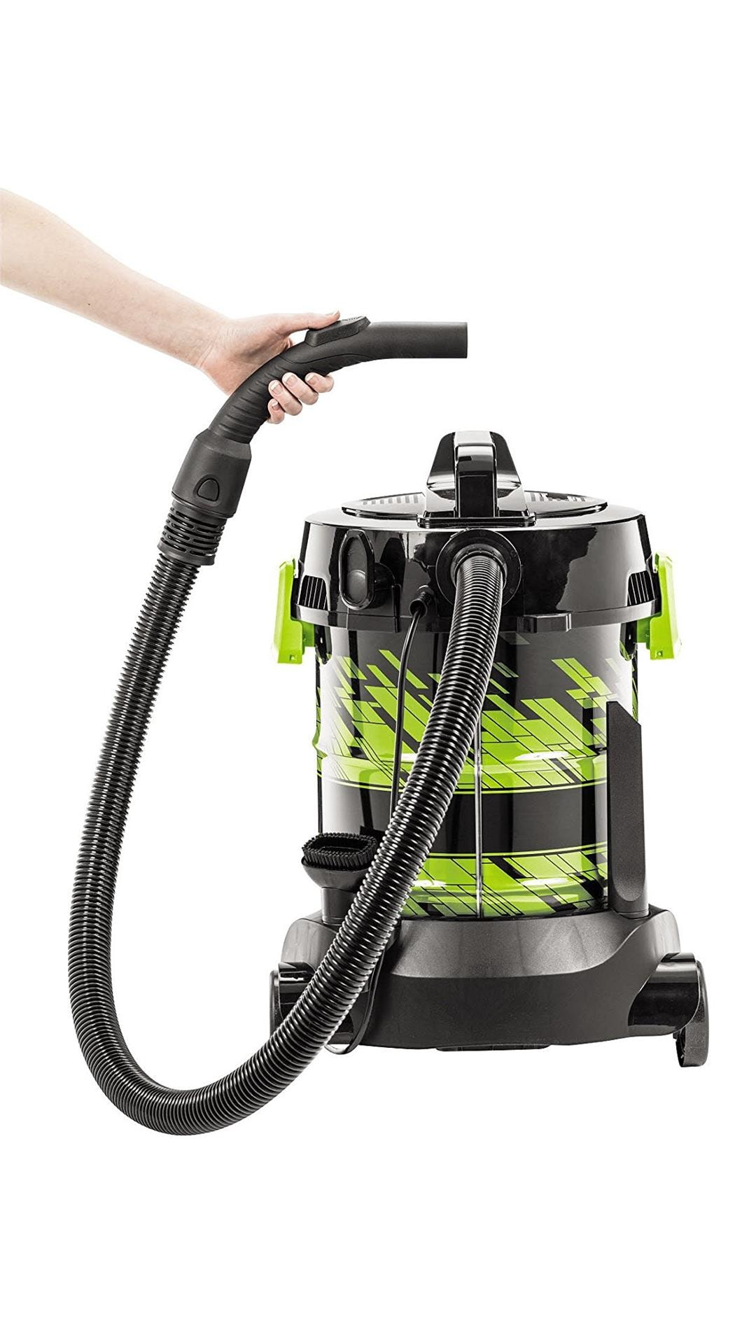 Bissell 2026E Dry Vacuum Cleaner (Black & Green)