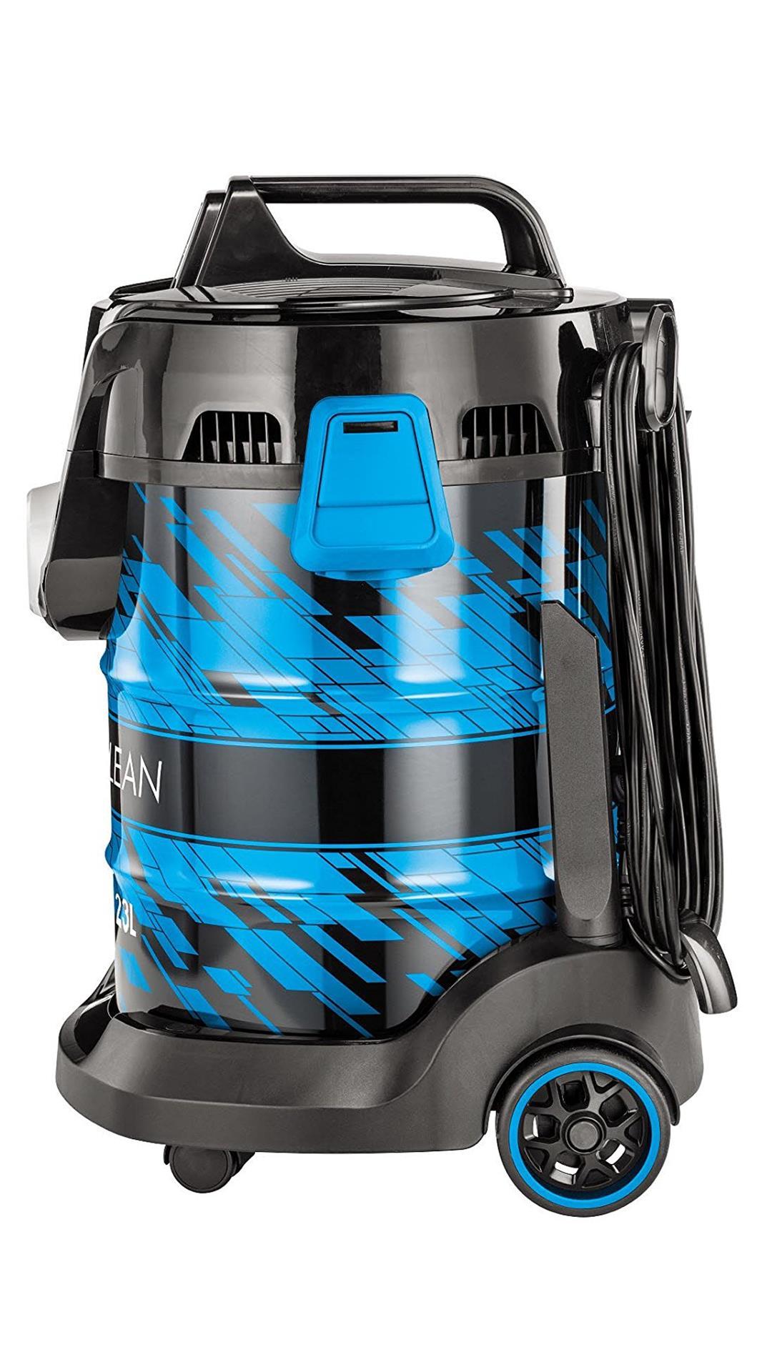 Bissell 20271 Dry Vacuum Cleaner (Black & Blue)