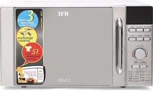 IFB 20SC3 20 L Convection Microwave Oven (Metallic Silver)