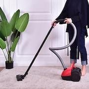Costway 23081US Car Vacuum Cleaner (Red)