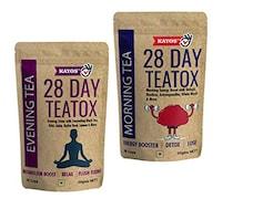 Kayos 28 Day Teatox Herbal Tea (50GM, Pack of 2)