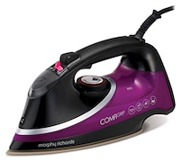 Morphy Richards 303119 Steam Iron (Black & Purple)