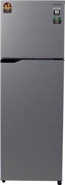 Panasonic 307 L Frost Free Double Door 3 Star Refrigerator (NRMBG31VSS3)