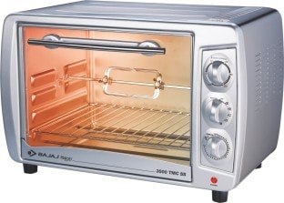 Bajaj Majesty 3500 TMCSS 35 L Oven Toaster Grill (White)