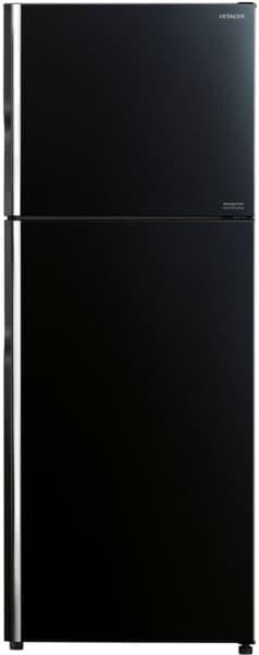 Hitachi 375 L Frost Free Double Door 2 Star Refrigerator (R-VG400PND8-GBK)