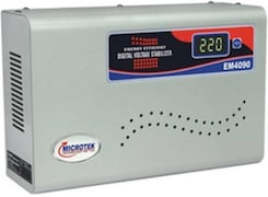 Microtek 4090-3 Voltage Stabilizer (Grey)
