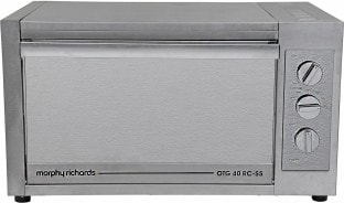 Morphy Richards 40RCSS 40 L Oven Toaster Grill (Silver)