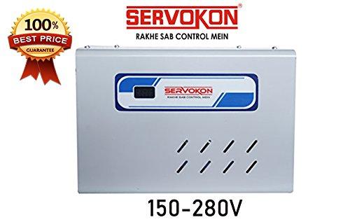 Servokon 415A Digital Voltage Stabilizer (Grey)