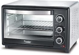 Prestige 42255 28 L Oven Toaster Grill (Black & Silver)