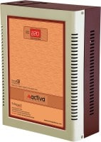 Activa 5 KVA Digital AC Voltage Stabilizer (Brown)