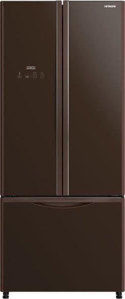 Hitachi 510 L Frost Free French Door Bottom Mount 3 Star Refrigerator (R-WB560PND9-GBW)