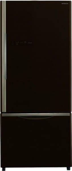 Hitachi 525 L Frost Free Double Door Bottom Mount 2 Star Refrigerator (R-B570PND7-GBW)