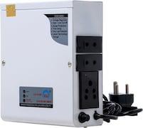 Simon 600 VA Voltage Stabilizer (White)