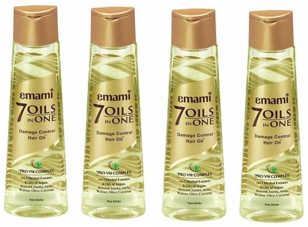 Emami 7 Oils in One (400ML, Pack of 4)