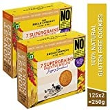 The Bread Company 7 Supergrains Digestive Biscuits (200GM, Pack of 2)
