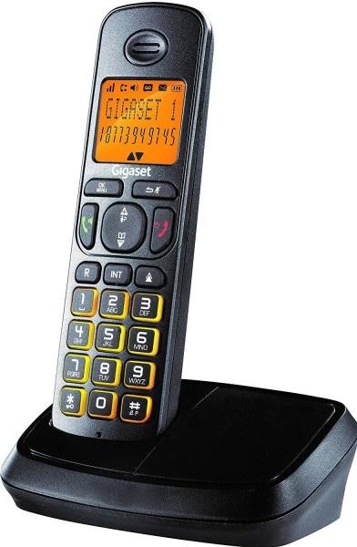 Gigaset A500 Cordless Landline Phone (Black)