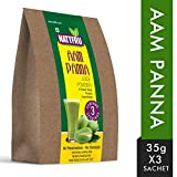 Nattfru Aam Panna Juice Powder (Aam Panna, 105GM, 3 Pieces)