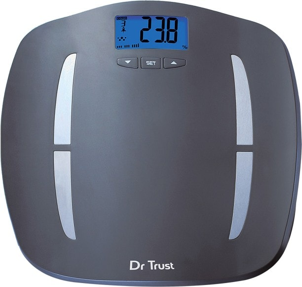 Dr. Trust ABS Fitness Digital Weighing Scale (Grey)