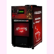 ATLANTIS Cafe Plus 4 Option Hot Beverage Coffee Machine (Red)