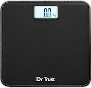 Dr. Trust Absolute Leather Digital Weighing Scale (Black)