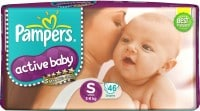 Pampers Active Baby Diapers (46 PCS, S)