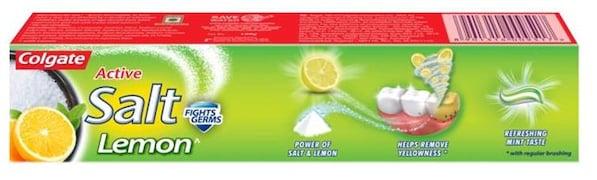 Colgate Active Salt Lemon Toothpaste (100GM)