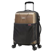 Olympia Aerolite II Spinner Luggage (21 Inch, Brown)