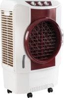 Usha Air King Air Cooler (Marron & White, 70 L)