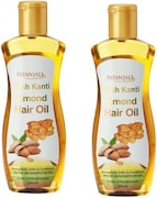 Patanjali Almond Hair Oil (200ML, Pack of 2)