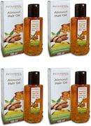Patanjali Almond Hair Oil (100ML, Pack of 4)