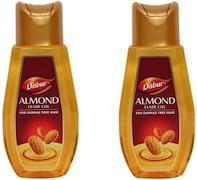 Dabur Almond Hair Oil (400ML, Pack of 2)