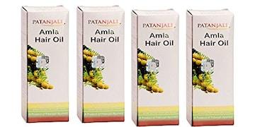 Patanjali Amla Hair Oil (Pack of 4)