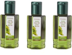 Patanjali Amla Hair Oil (100ML, Pack of 3)