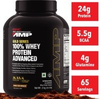 GNC AMP Gold Series 100% Advanced Whey Protein (2KG)
