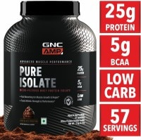 GNC AMP Pure Isolate Protein Powder (2KG)