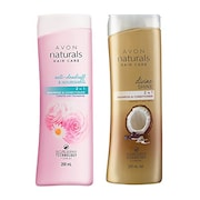 Avon Anew Naturals Shampoo & Conditioner (Pack of 2)