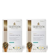Teamonk Anicca Chamomile Green Tea (200GM, Pack of 2)